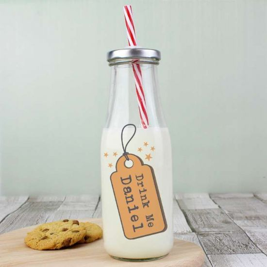 Personalised Milk Bottles
